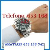 Ptbv3n reloj espia de acero full hd - foto