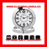 O5Ga  Reloj Sobremesa Camara Espia HD - foto