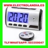 7P  Despertador Mini Camara Oculta HD - foto