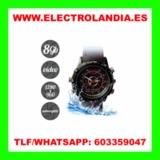 pE45  Reloj Acuatico Mini Camara Oculta  - foto