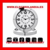 Bzf  Reloj Sobremesa Camara Espia HD - foto