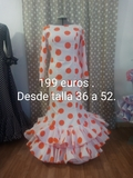 trajes de flamenca - foto