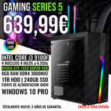 Pc gaming i3 9100 gtx 1650 super 4gb - foto