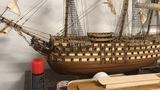 maqueta de barco santísima Trinidad - foto