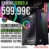 PC GAMING I3 9100 GTX 1650 4GB 8GB RAM - foto