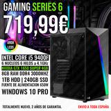 PC GAMING I5 9400 GTX 1650 SUPER 4GB - foto