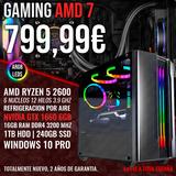 PC GAMING RYZEN 5 2600 GTX 1660 16GB - foto