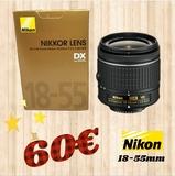 objetivo nikon 18-55 VR - foto