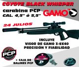Pack pcp coyote black whisper gamo - foto