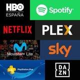NETFLIX PREMIUM , HBO, SPOTIFY ,  DANZ ETC.  - foto