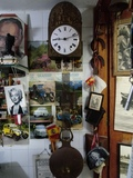 Reloj antiguo de pared - foto