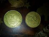 Monedas francia centimos 1962 y 1964 - foto