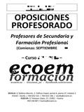TEMARIO OPOSICIONES PES BIOLOGÍA Y GEOLO - foto