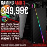Pc gaming ordenador ahtlon 3000g 8gb ram - foto