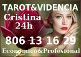 TAROT Vidente Cristina  806 13 16 29 - foto