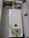 fontanero de caldera de butano - foto