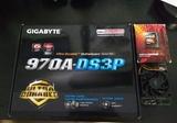 Placa Gigabyte 970A + Fx 6300 - foto