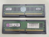 2 Memorias Kingston 2 GB ram 800mhz ddr2 - foto