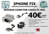 repara conector carga ordenador portatil - foto