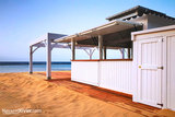 Chiringuitos de madera para playas - foto