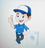 tecnico de lavadoras. - foto
