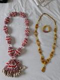Collares de santeria y pulseras de santo - foto