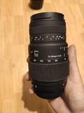 Objetivo sigma 70-300mm f4-5.6 dg macro - foto