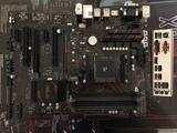 Asus prime b350-plus socket am4 - foto