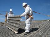 Desmontar tejados de placas de uralita - foto