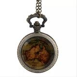 Reloj de bolsillo Mapa Australia - foto