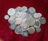 Gran lote de 60 monedas españolas - foto