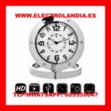 wxm  Reloj Sobremesa Camara Espia HD - foto