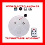 qX6w  Detector de Humo Camara Espia HD - foto