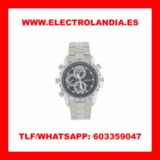 cHB  Reloj Metalico Camara Espia HD - foto