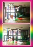 Zona recreo infantil con piscina bolas - foto