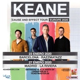 Entradas Keane Madrid - foto