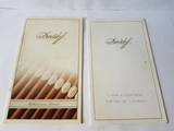 Dos catalogos puros davidoff - foto