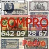 Compro Billetes de las antiguos pesetas - foto