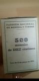 caja monedas 10 céntimos original - foto