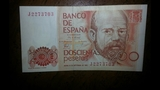 Serie de billetes de 200 pesetas - foto