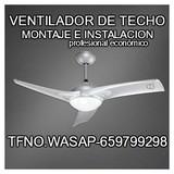 VENTILADOR DE TECHO-instalacion-montaje - foto
