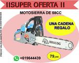 MOTOSIERRA DE 58CC- REGALO CADENA - foto