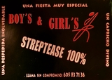 Striptease desnudo total Striper y Boys - foto