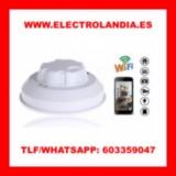yD  Detector de Humo Camara Espia HD Wif - foto