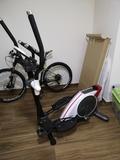 bicicleta elíptica BH eléctrica - foto