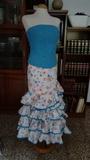 Traje de flamenca talla 46 - foto
