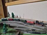 Tren vapor escala N - foto