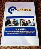 TEMARIO VIGILANTE SEGURIDAD Y EXPLOSIVOS - foto