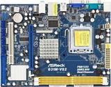 Asrock g31m-vs2 +procesador+ventilador - foto