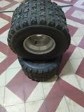 ruedas traseras quad - foto
